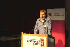 Rüdiger Wachsmann, Vorsitzender des komba Kreisverbandes Soest